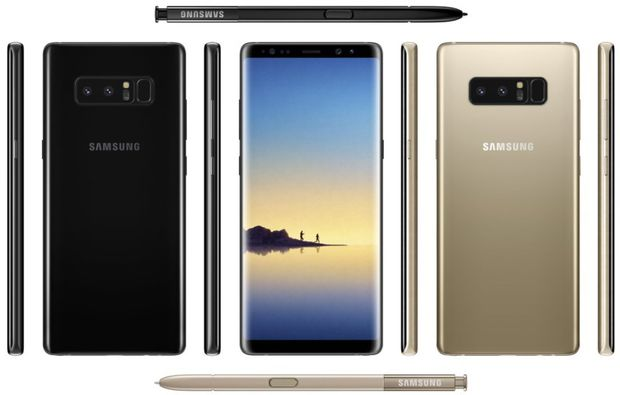 Photo of Samsung a lansat noul model Galaxy Note 8