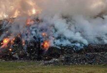 Photo of Incendiu puternic la groapa de gunoi a municipiului Sighişoara!